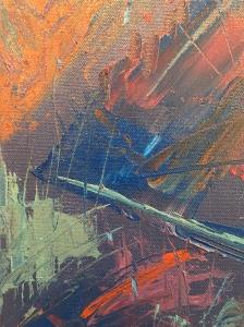 Dancing flock - Detail 2