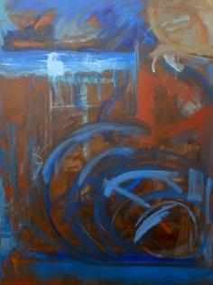 "Pulse, Oil on Canvas, 30 x 40"""