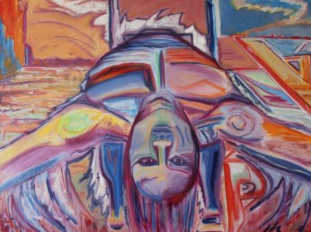 """Sacrifice, 30x40"""", Oil on Canvas"""