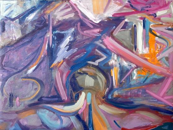 "The Penitent, 30x40"", Oil on Museum-Depth Linen"