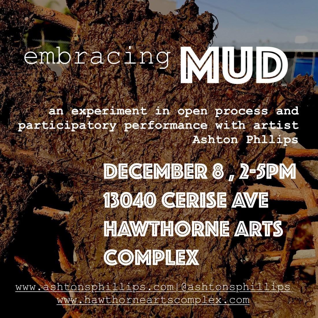 embracing MUD flyer
